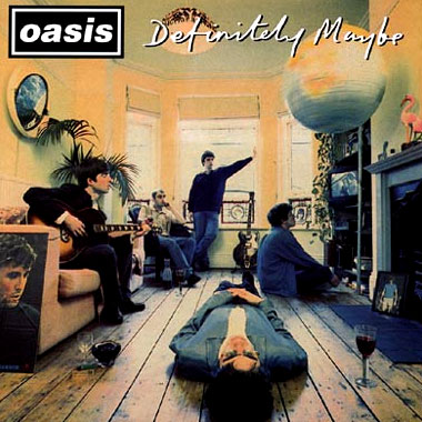 Oasis - Definitely Maybe (일본특별판)