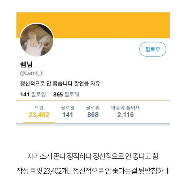 동춘동 초등학생 유괴살인 사건 범인의 트위터