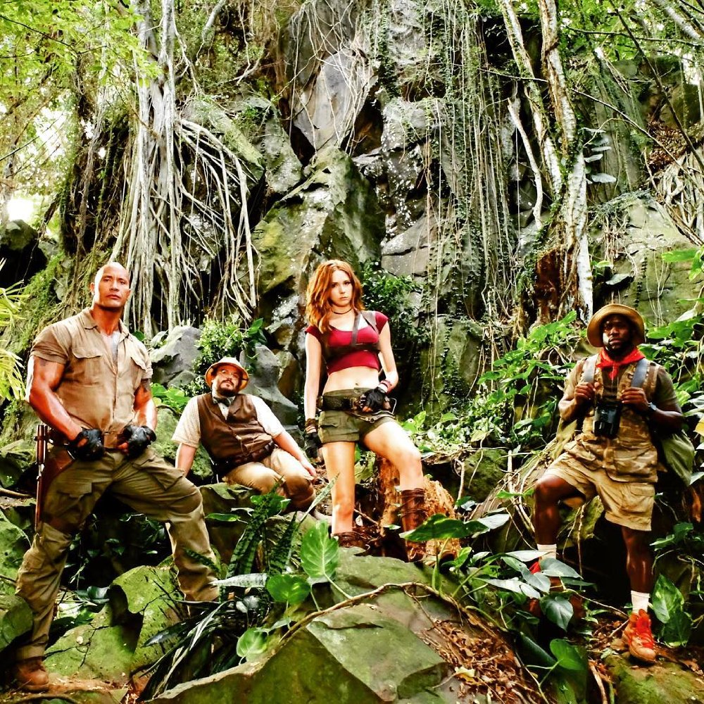 """Jumanji : Welcome To The Jungle"" 티저영상.."