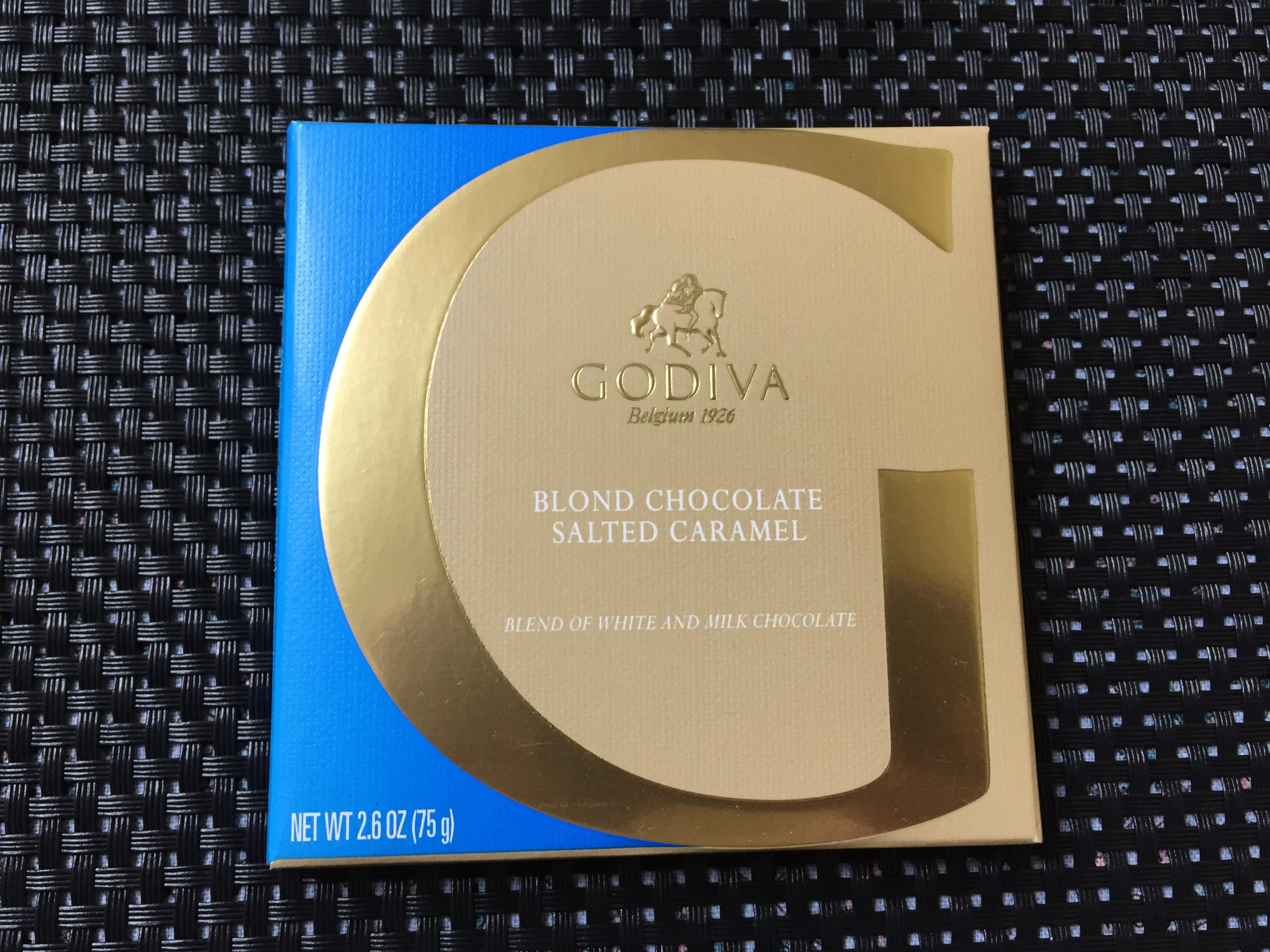 [GODIVA] BLOND CHOCOLATE SALTED CA..