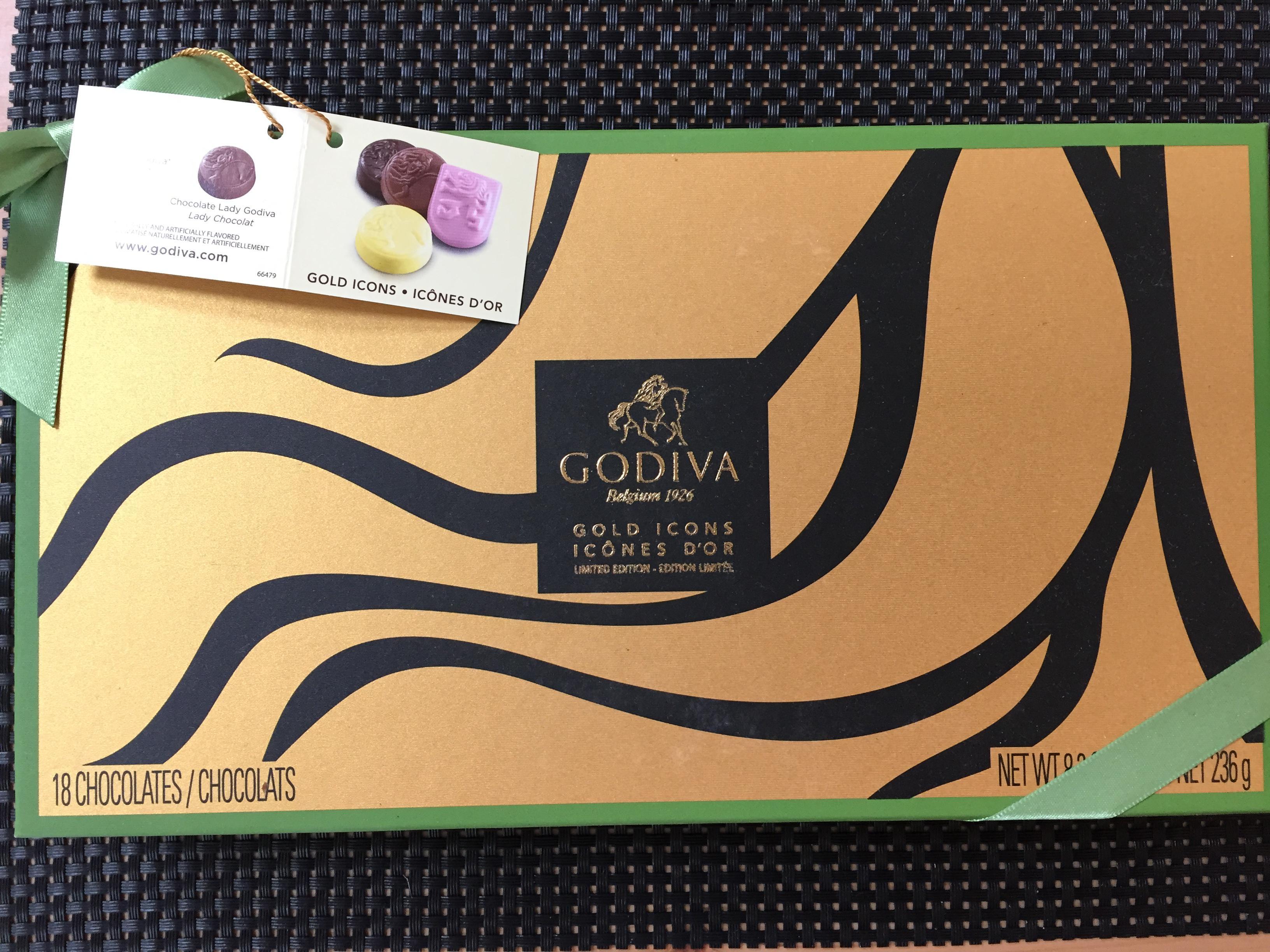 고디바의 심볼들을 초콜릿으로 만나요! [GODIVA]..