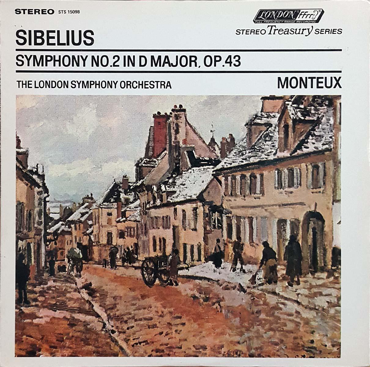 시벨리우스; 교향곡 2번 - 몽퇴/런던 심포니(Dec..