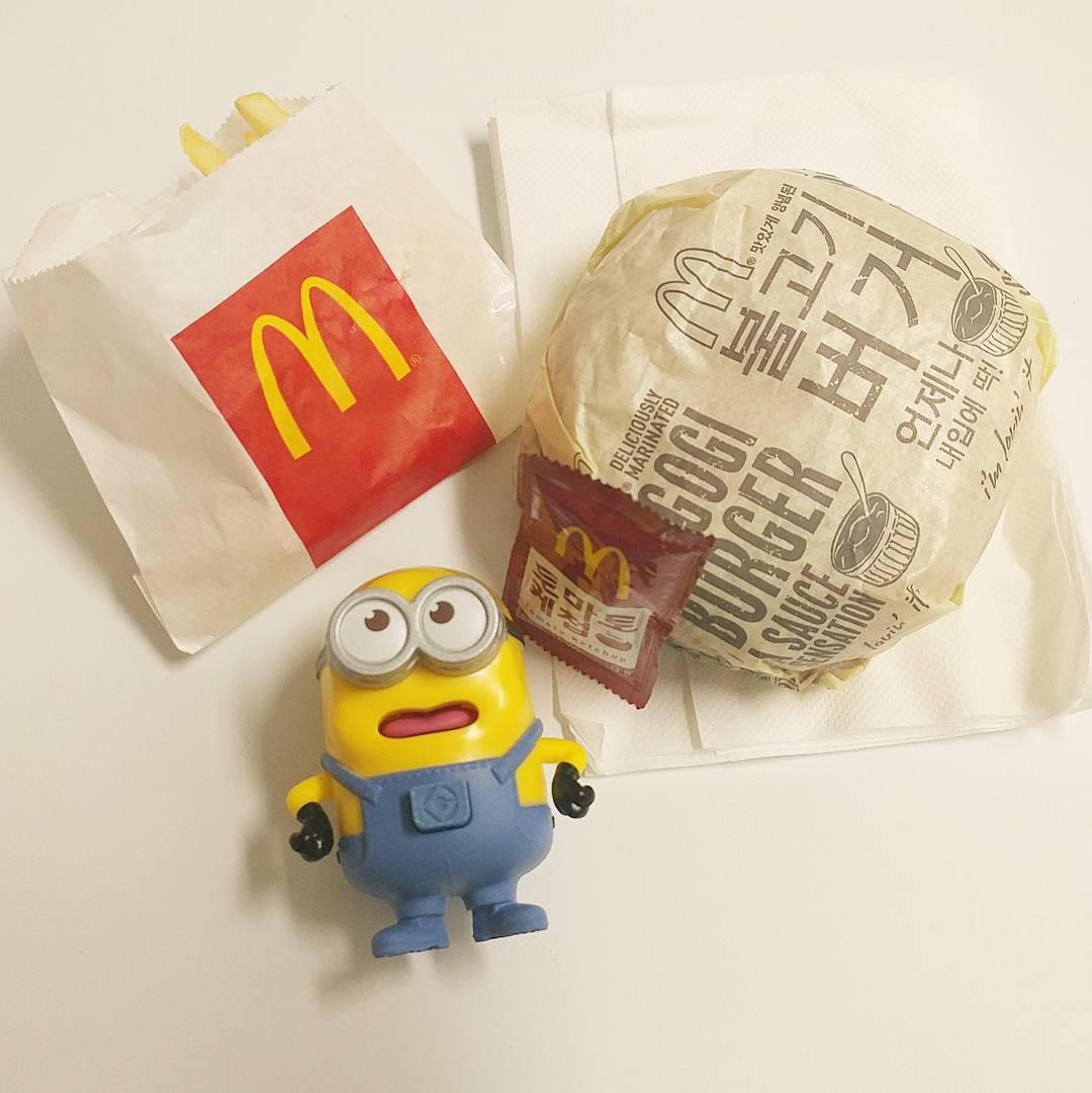 맥도날드 해피밀 한정 미니언