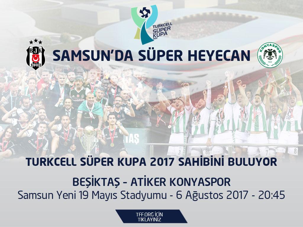 2017 터키 쉬페르 쿠파스 일정 및 쉬페르 리그 일정 ..