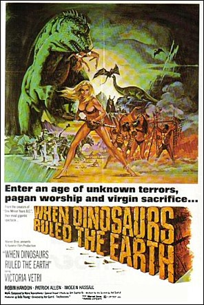 [SF] When Dinosaurs Ruled The Earth (1970)