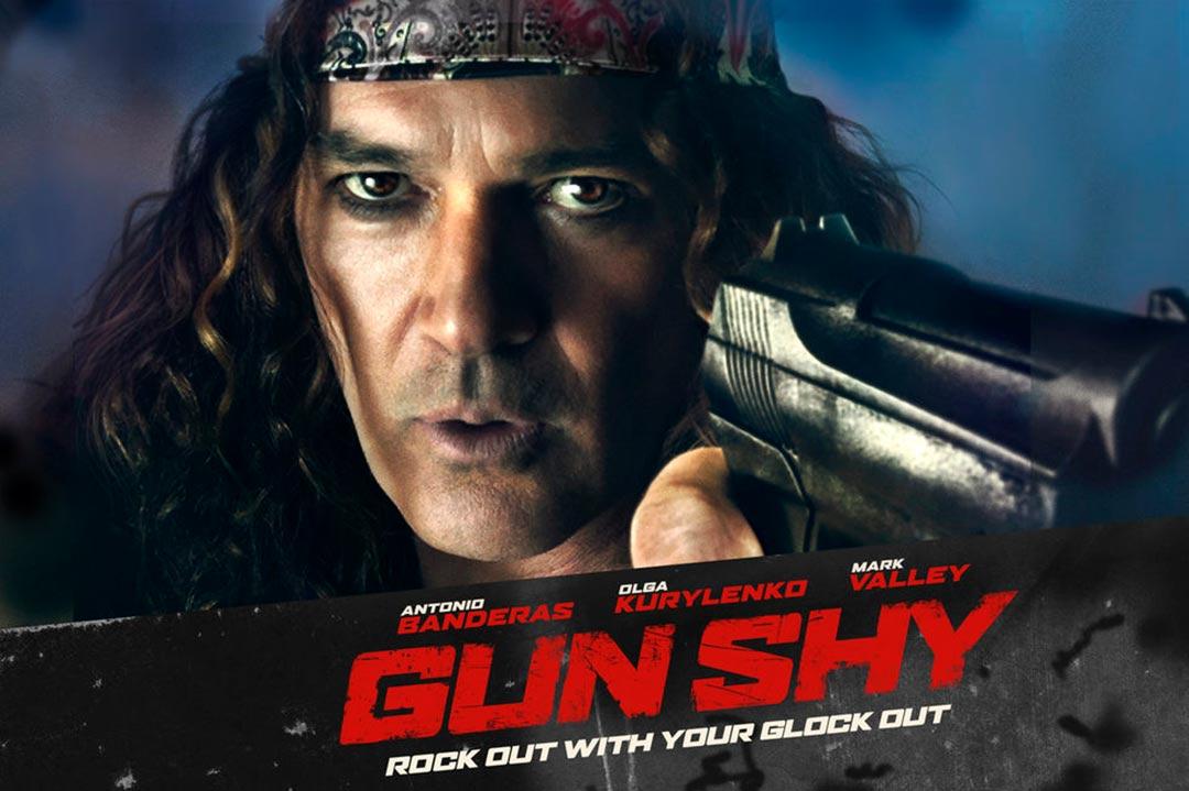 """""""Gun Shy"""" 라는 작품입니다."""