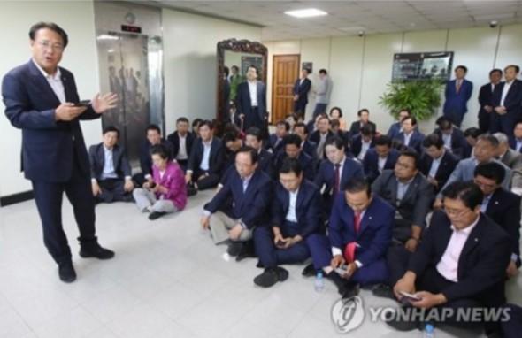자유한국당이 시위 찍지 말라고 한 진짜 이유