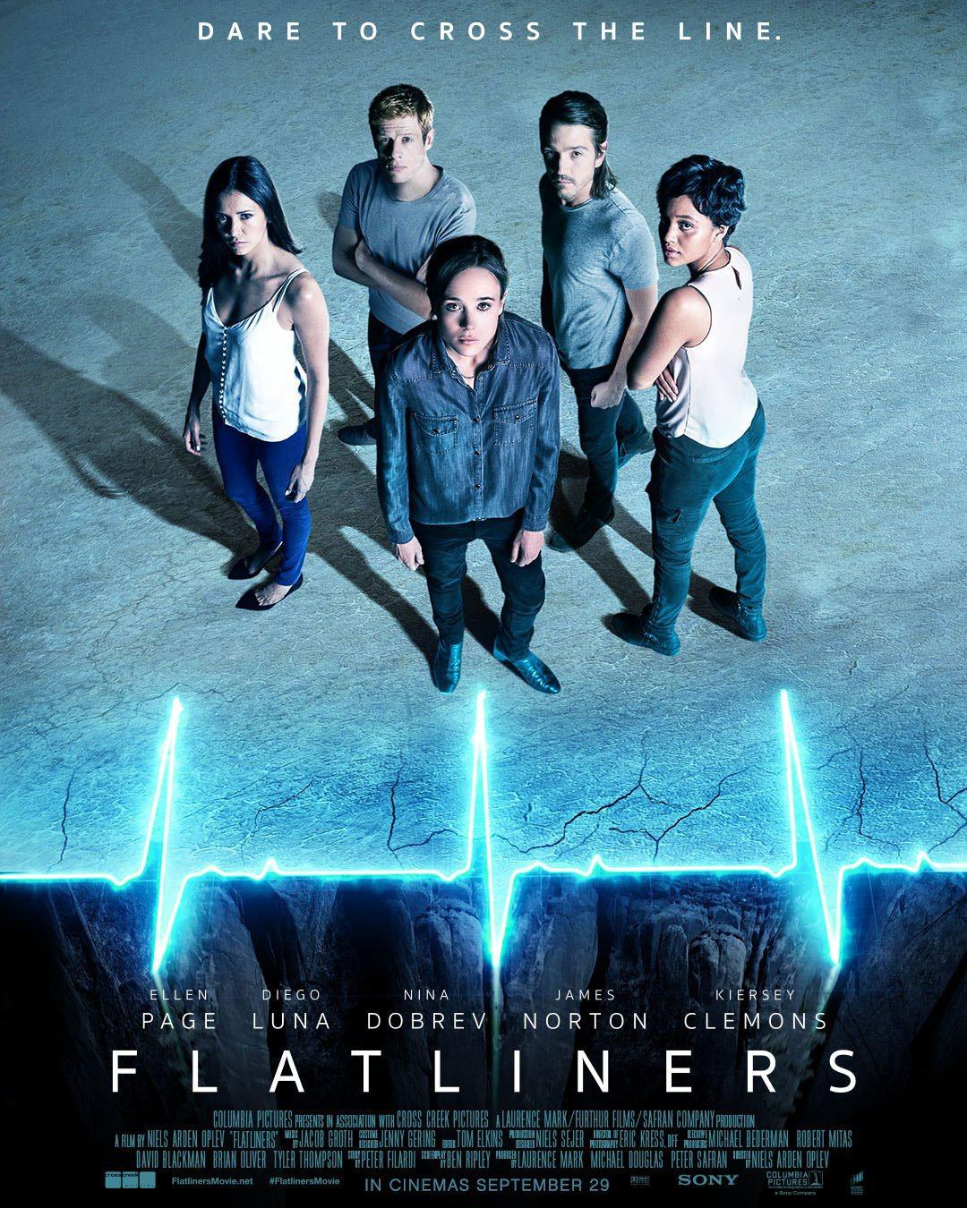 """FLATLINERS"" 새 예고편입니다."