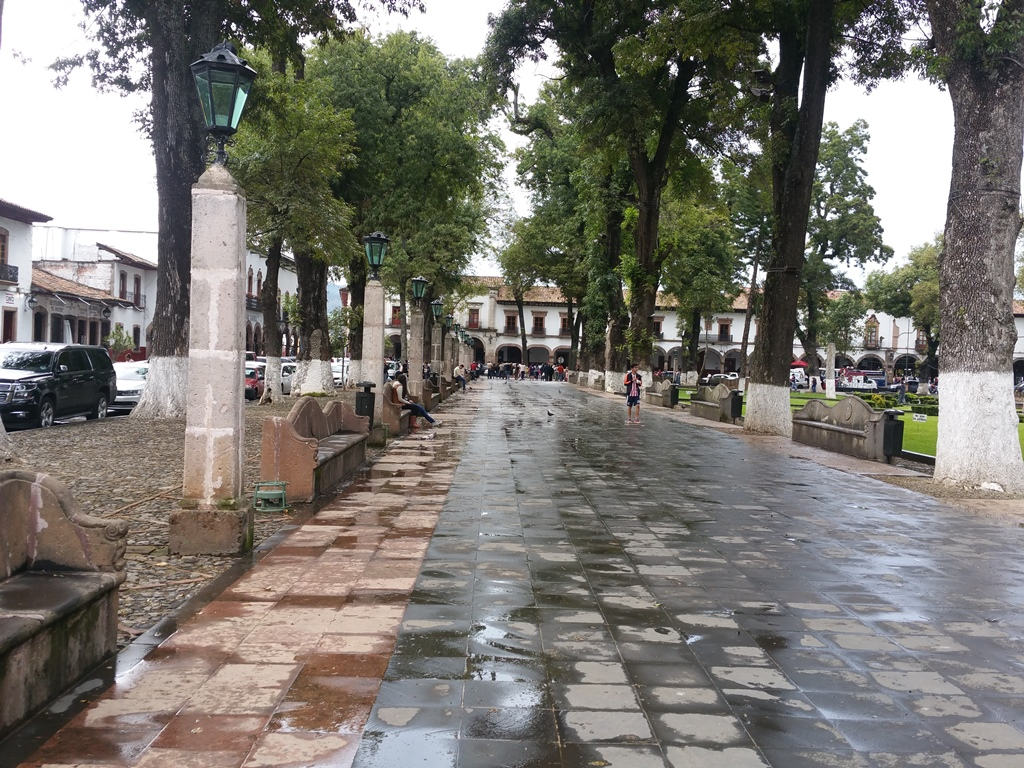[멕시코] 빠츠꾸아로 중앙 공원
