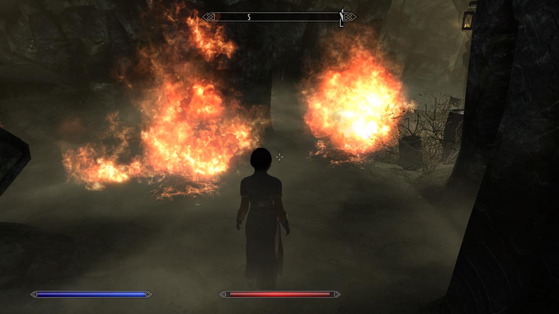 하하하하하!! 다 불타버려라! 불타버려!!
