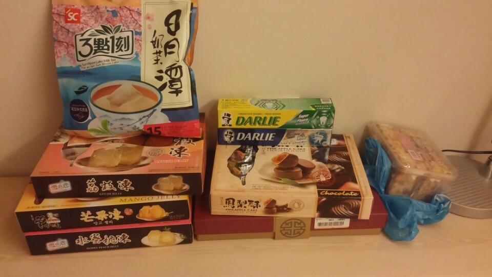 대만여행1 - 과자쇼핑, 용산사