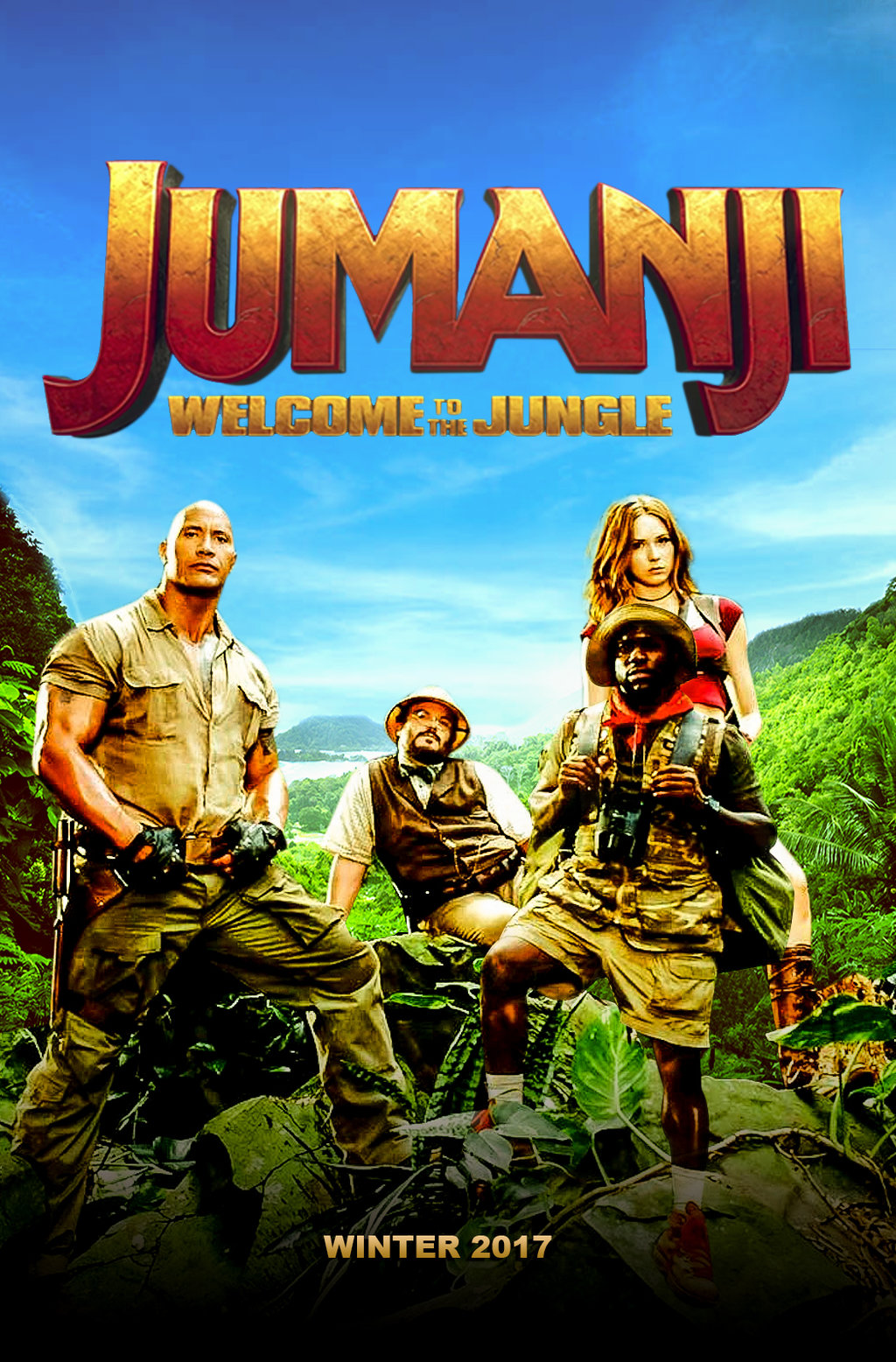 """JUMANJI: WELCOME TO THE JUNGLE"" 트레일러.."