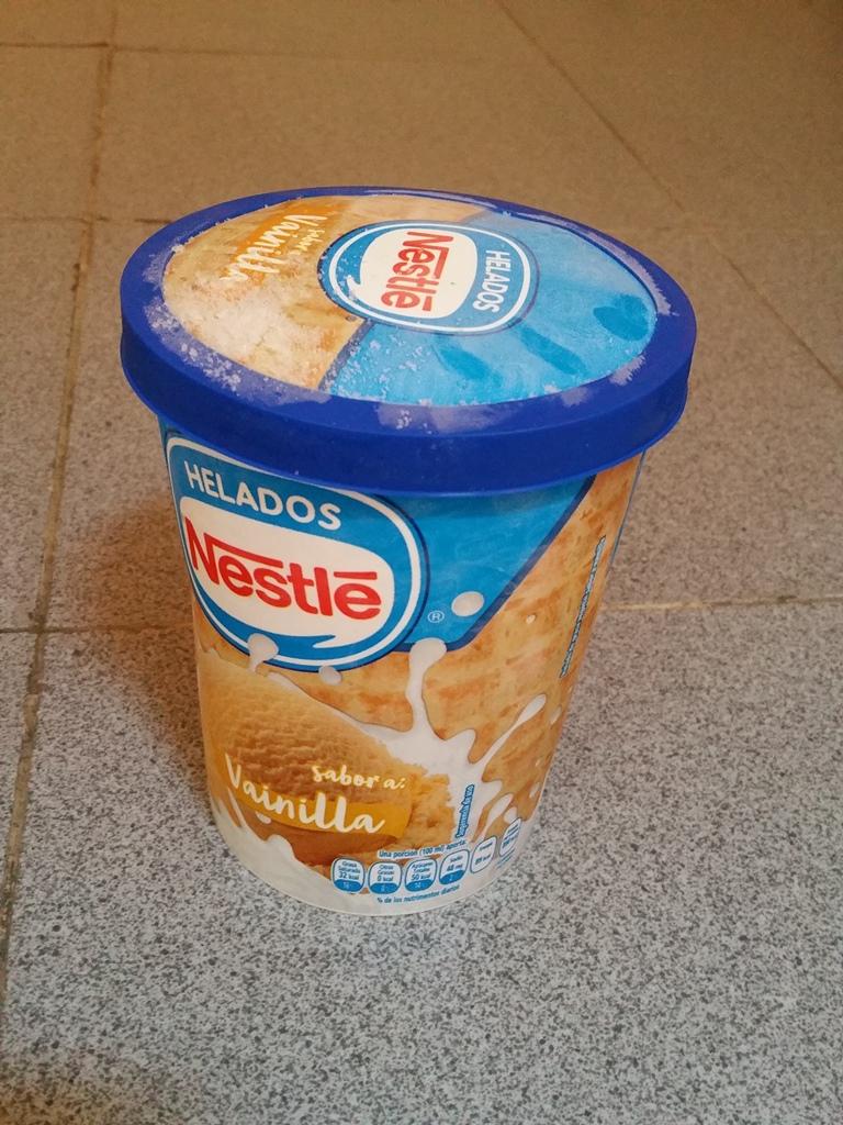 [멕시코] Nestle가 만든 바닐라맛 아이스크림 1리터