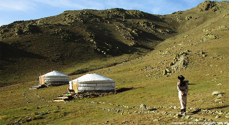 몽골 자유여행 (3) 게르 캠프에 도착하다