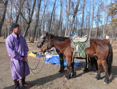 [몽골] 2일 : 테를지에서 말 타기