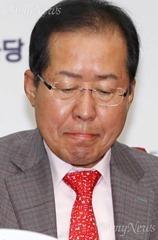 """홍준표마저, """"동정의 대상 아니야"""""""
