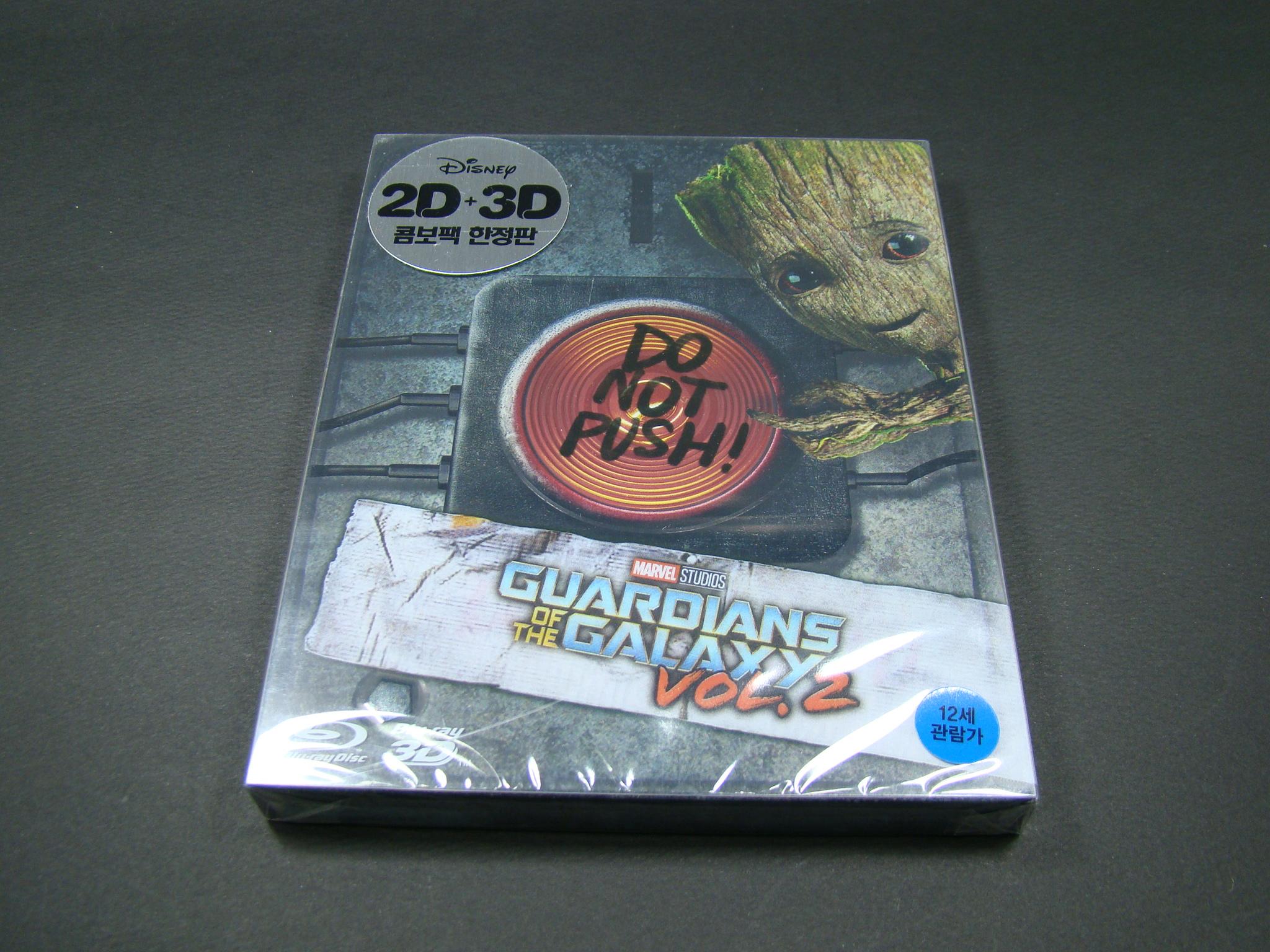 [블루레이] '가디언즈 오브 갤럭시 Vol. 2' ..