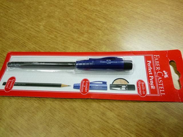 파버 카스텔 퍼펙트 펜슬, 연필깎이 + 연필깍지