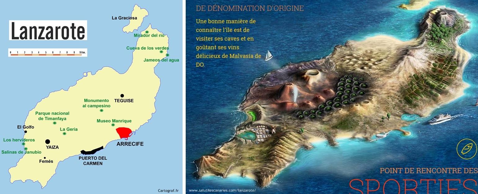 [카나리아 제도] 란사로테 - 신비로운 화산섬