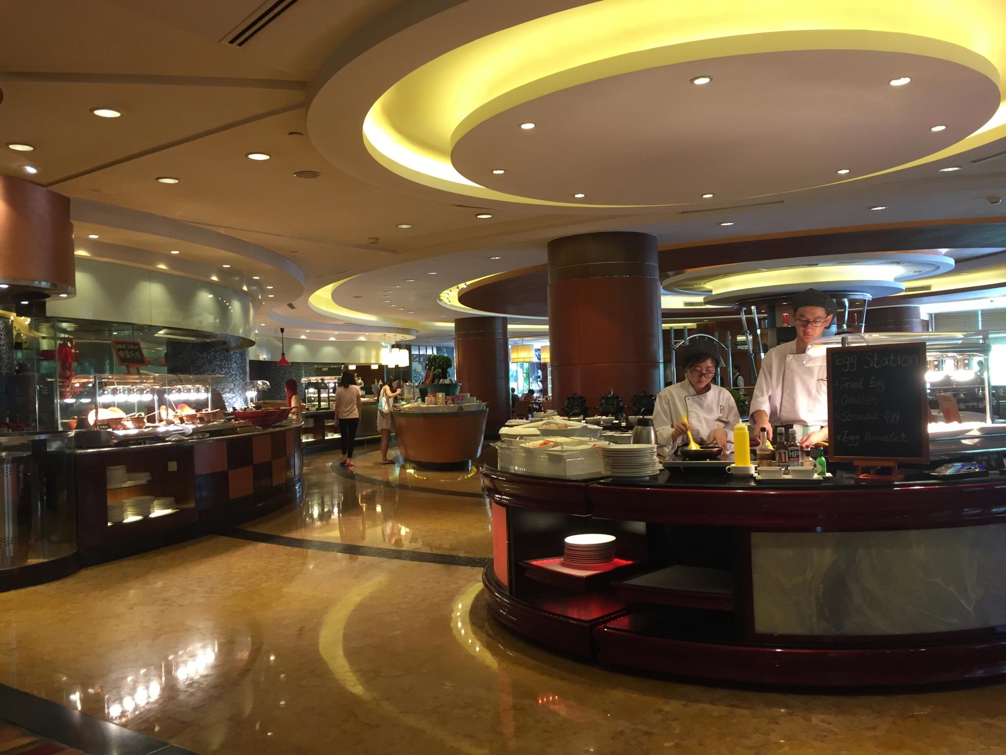 상하이먹방 (4) 5일간 쳐묵쳐묵한 중국 호텔 조식뷔페