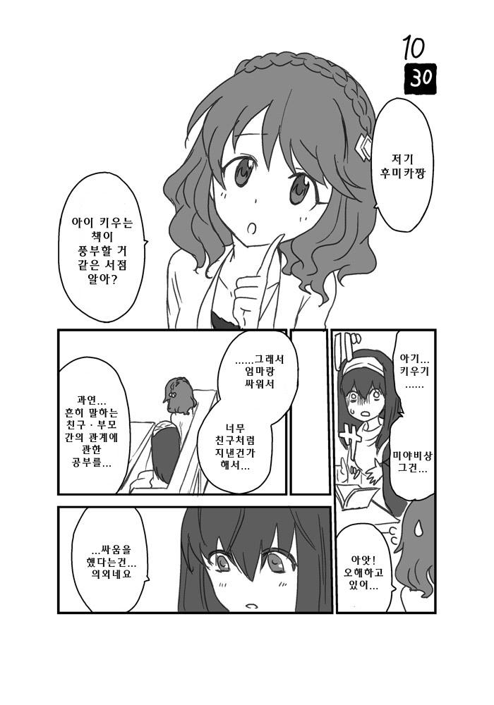 [신데]마야비 생일 만화, 진단결과