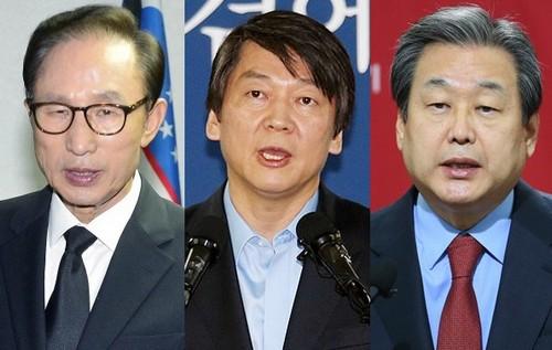 이명박·안철수·김무성 '적폐트리오'의 커밍아웃