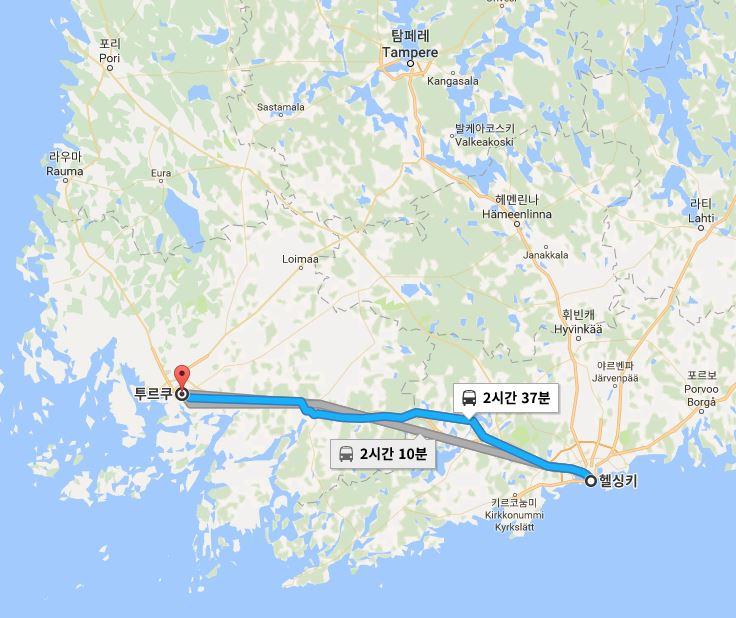 핀란드 여행12 - 헬싱키 - 투르쿠