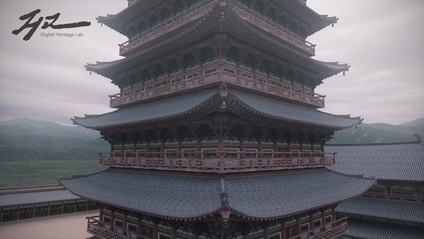 황룡사 9층목탑 난간의 중요한 단서 (실상사 삼층석..