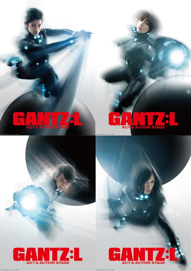 무대 'GANTZ:L - ACT & ACTION STAGE' 캐릭터..