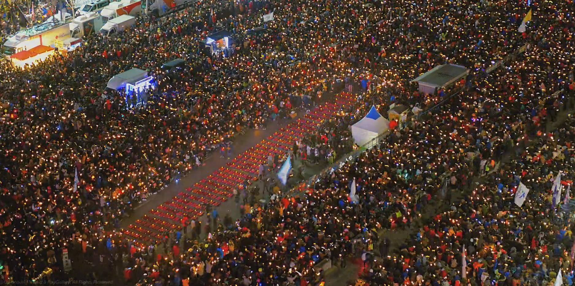 촛불 1년...적폐청산의 길 누가 막으려 하는가!