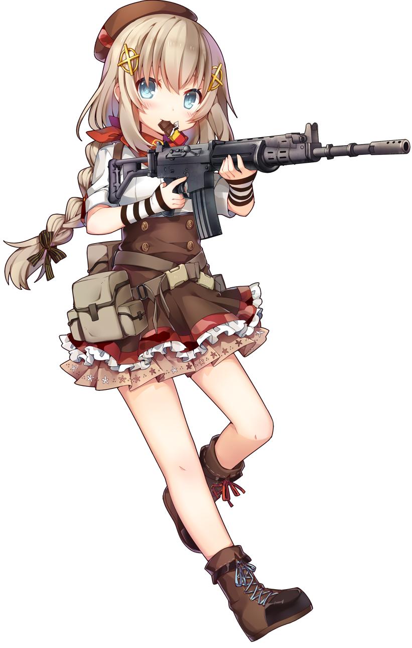 [소녀전선]FNC에 폭탄 설정을 넣어도 될듯한데...