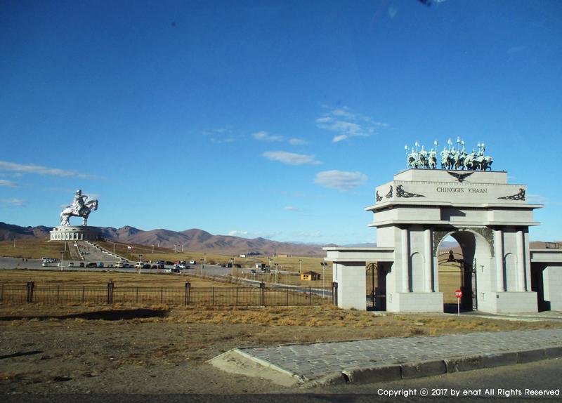 몽골 자유여행 (11) 거대거대 징기스칸 동상