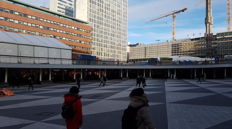 [스톡홀름 여행] 세르옐 광장 Sergels Torg, ..