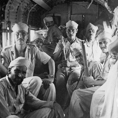 [50년]베트남 주둔 프랑스군 내부의 모로코 병사들