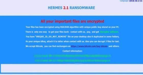 5,700종 파일 암호화 헤르메스 랜섬웨어, 국내 급..