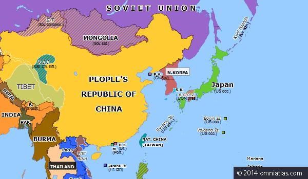 [52년]한국전쟁과 베트남 그리고 영국의 홍콩?