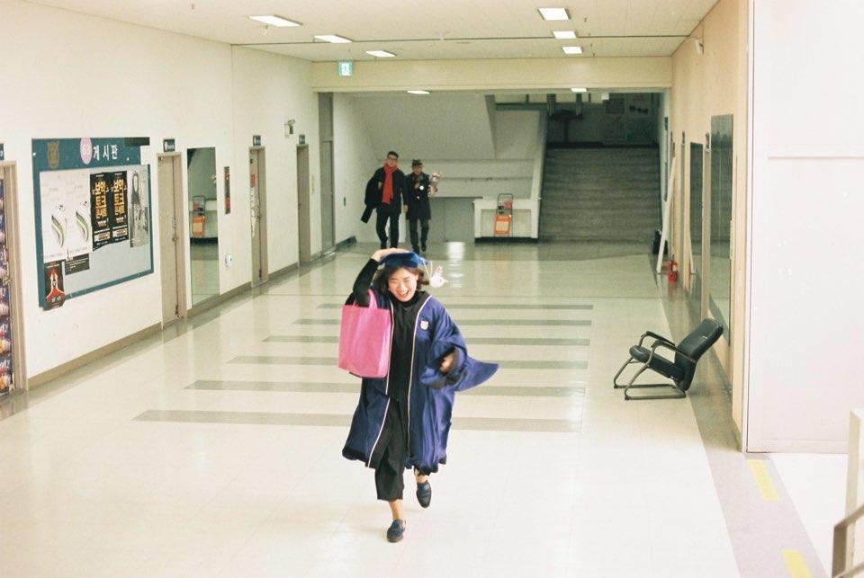 제일 좋아하는 졸업사진