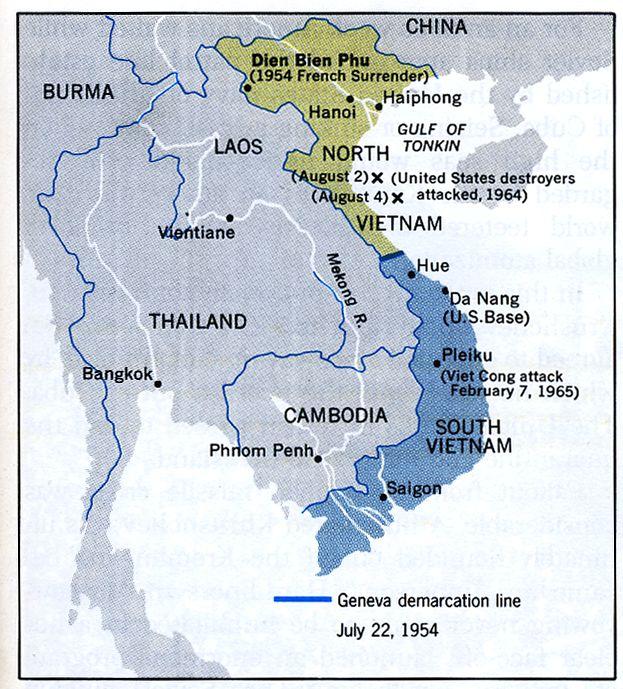 [54년]인도차이나에 대한 베트민과 중국의 갈등?