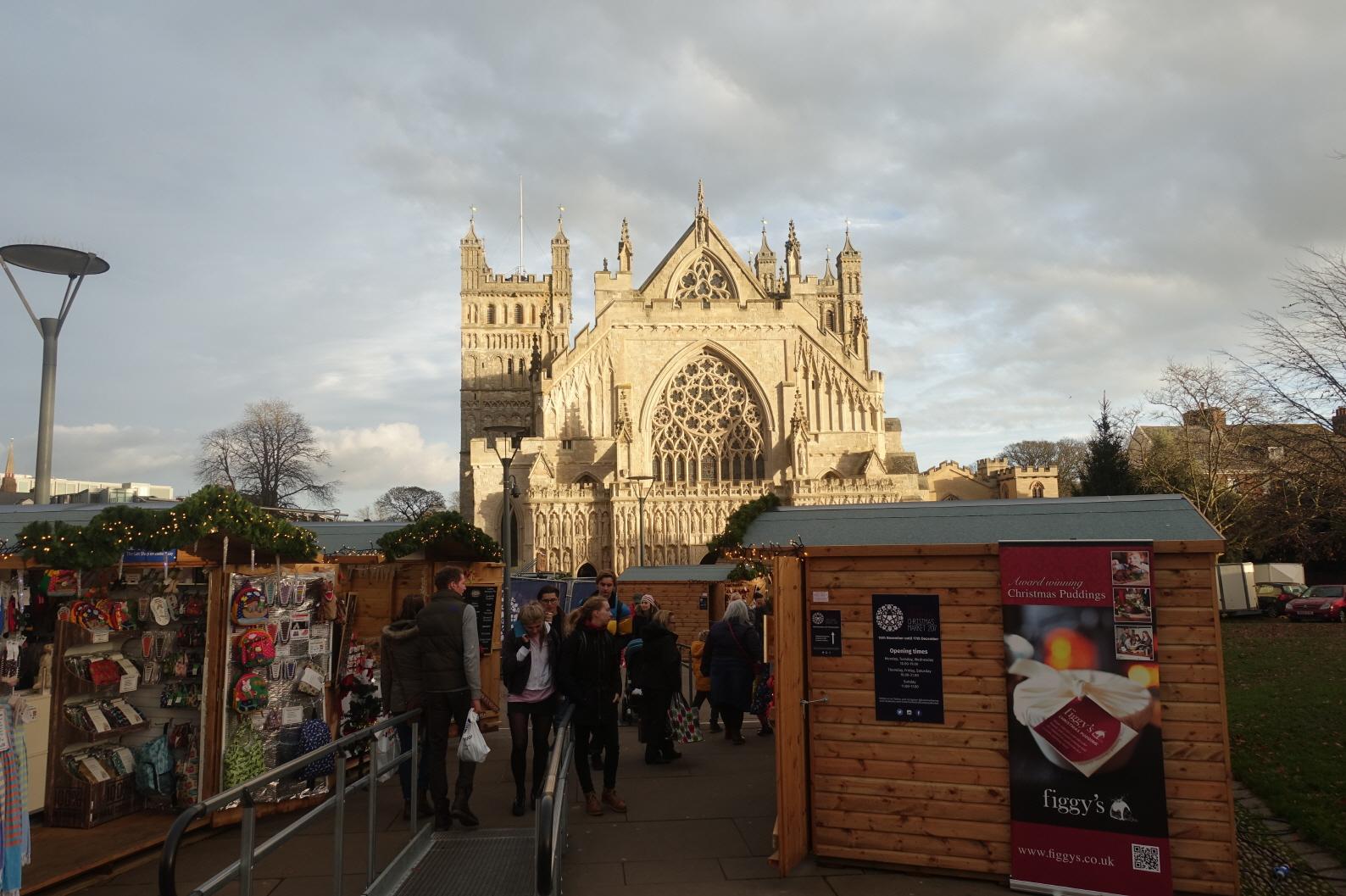 영국 Exeter, 지난 12월 풍경