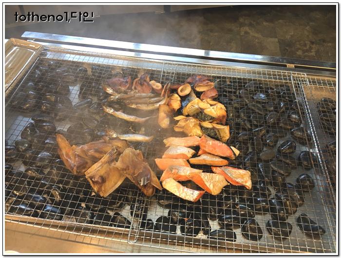 [17년 11월 홋카이도]셀프 해산물 덮밥을 만들어 ..