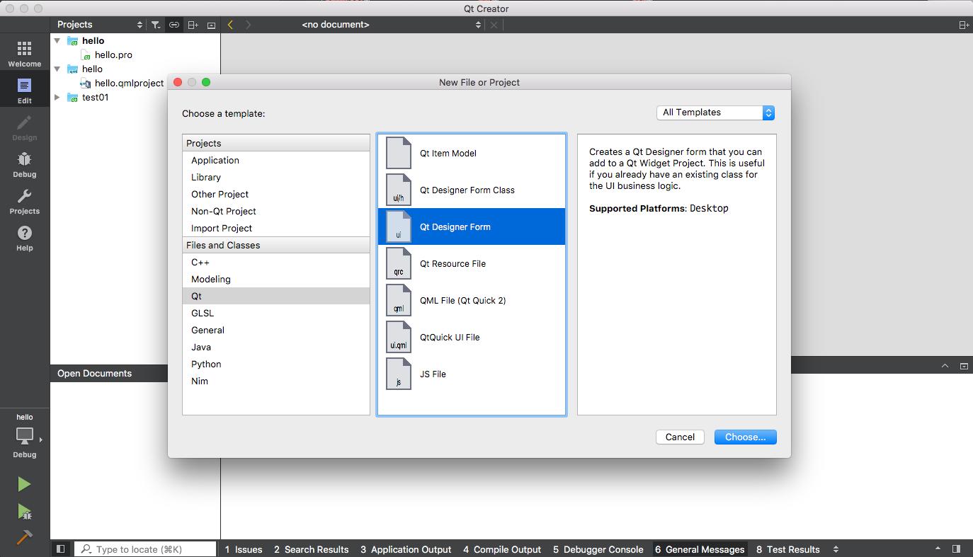 지훈현서 : [Python] mac에서 pyqt5 시작해 보기