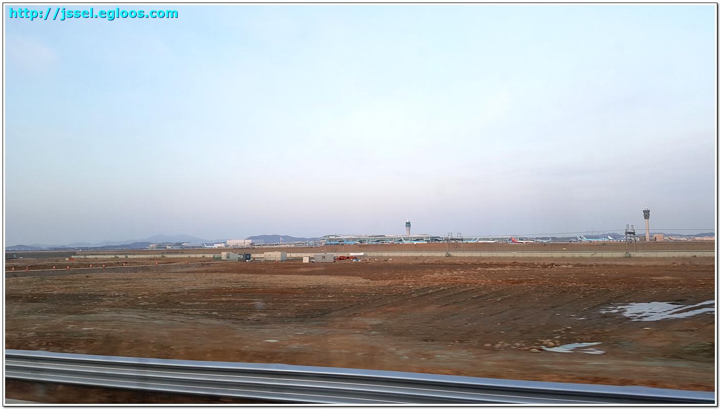 인천공항 제2터미널 기행 - 출국장, 전망대, 입국장
