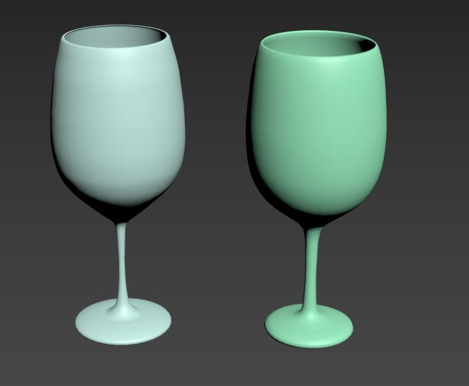 [161111] 3ds Max - Wine Glass
