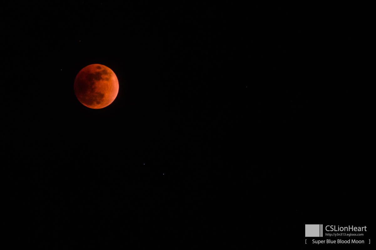 Super Blue Blood Moon + Lunar Eclipse