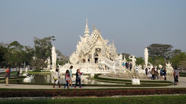 태국 치앙라이의 White Temple, Blue Temple..