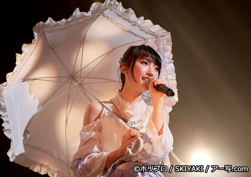 성우 야마자키 에리이, 2018년 2월 10일 솔로 라이브 사진