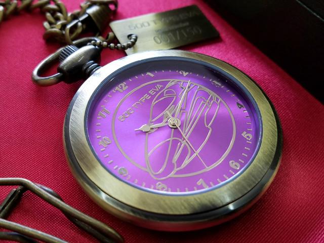 신칸센 '500 TYPE EVA'를 모티브로 하는 회중시계..