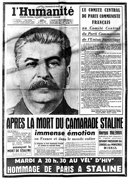 """""""스탈린 사망,독일에 대한 공포 그리고 프랑스"""""""
