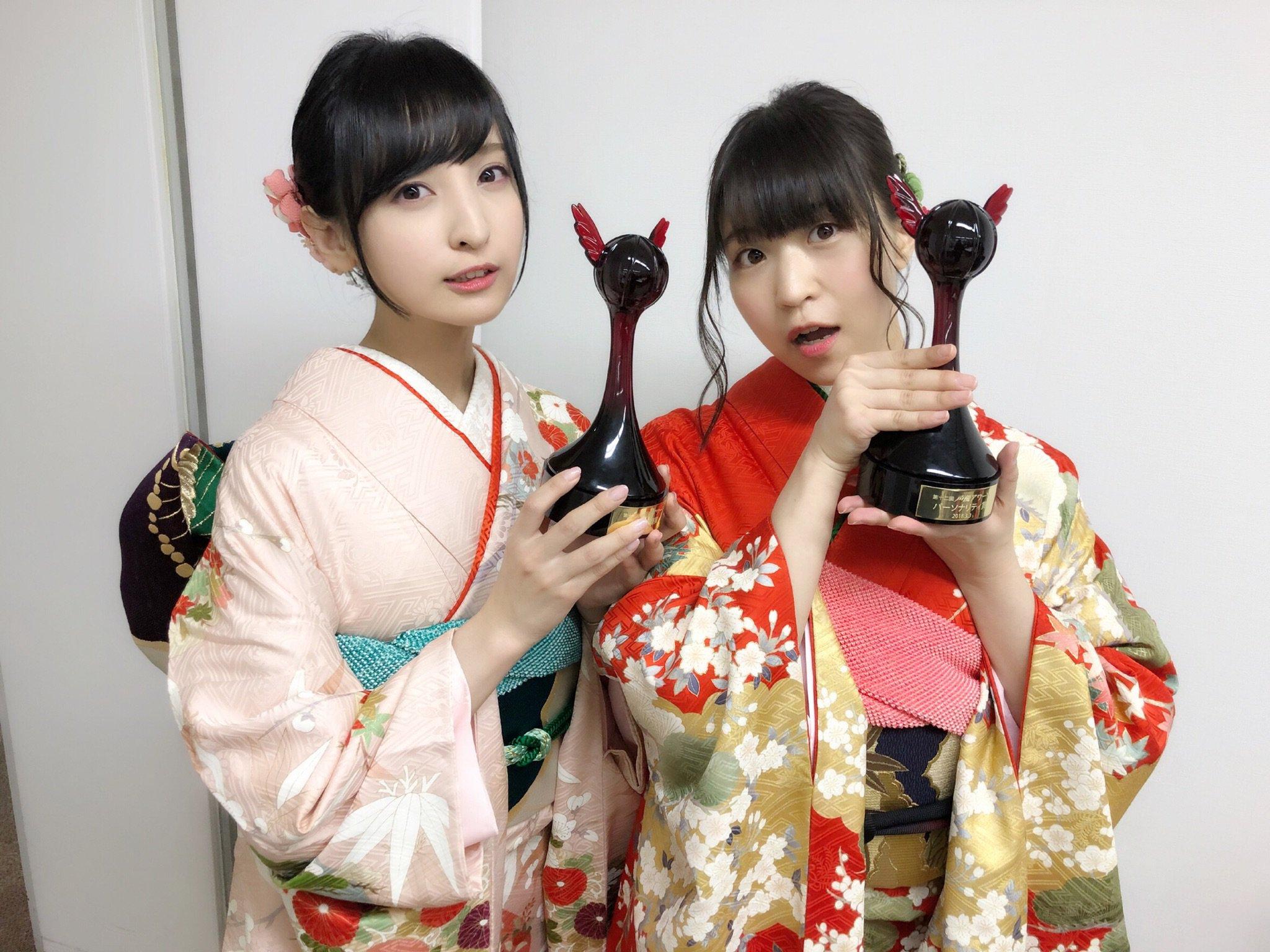 성우 사쿠라 아야네 & 오오니시 사오리의 사진, 성..