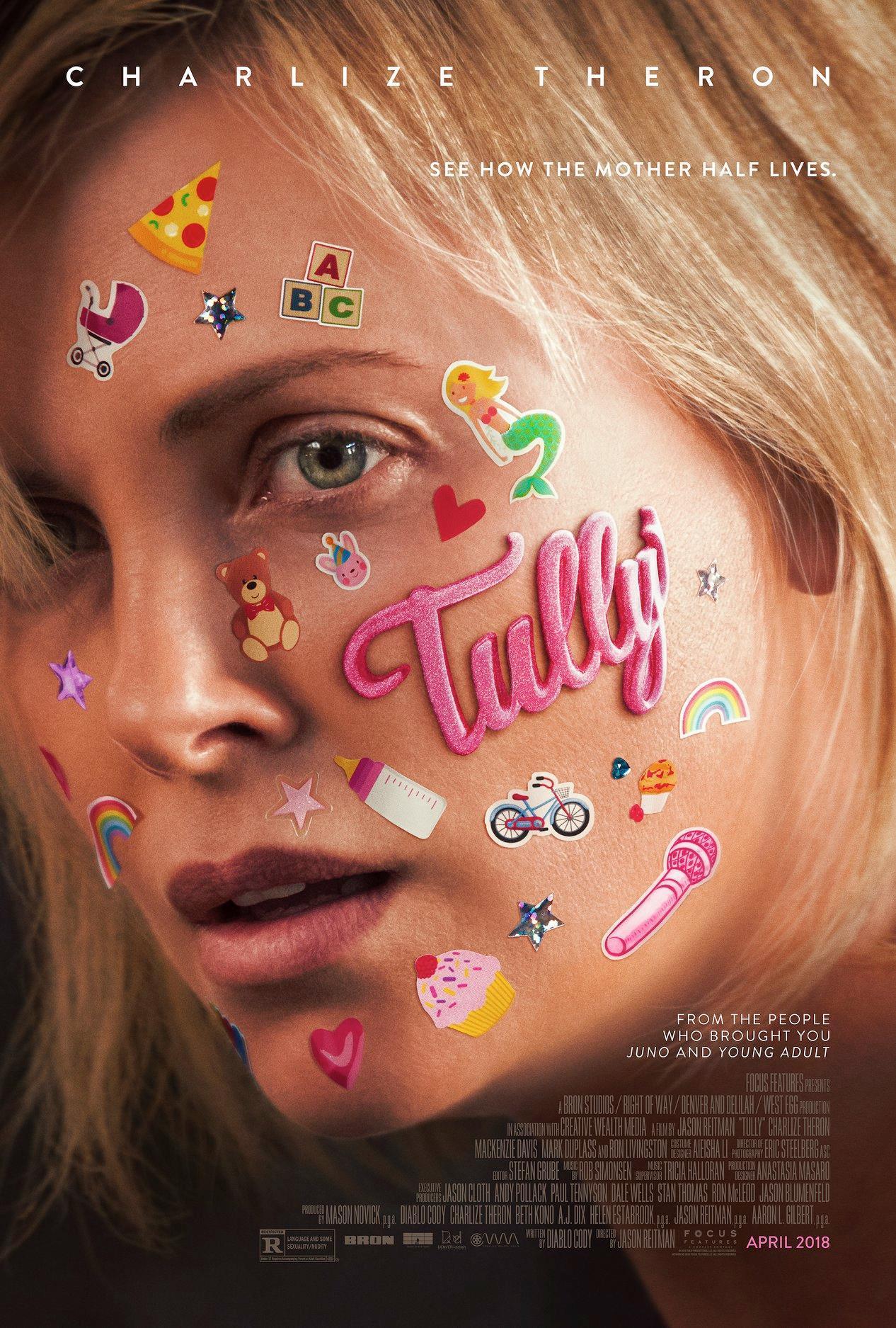 """제이슨 라이트먼의 신작, """"TULLY"""" 입니다."""